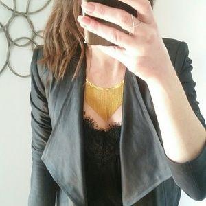 Gorjana Meg fringe collar necklace